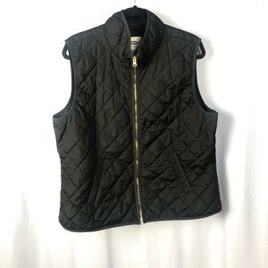 2 for $18 🎉 Black Quilted Vest